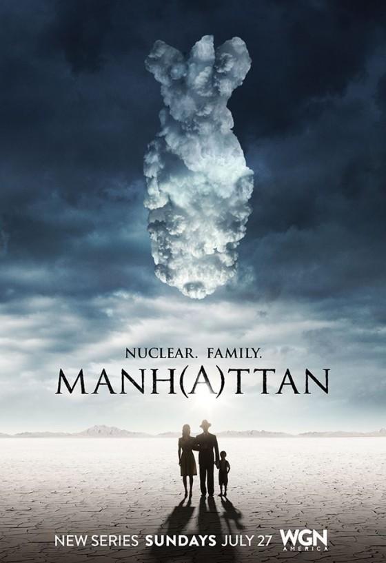 """Il manifesto della serie tv """"Manhattan"""""""
