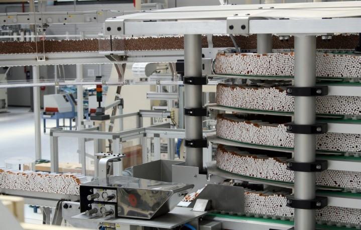 Produzione sigarette in italia
