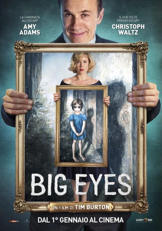 "Il nuovo manifesto di ""Big Eyes"" di Tim Burton"