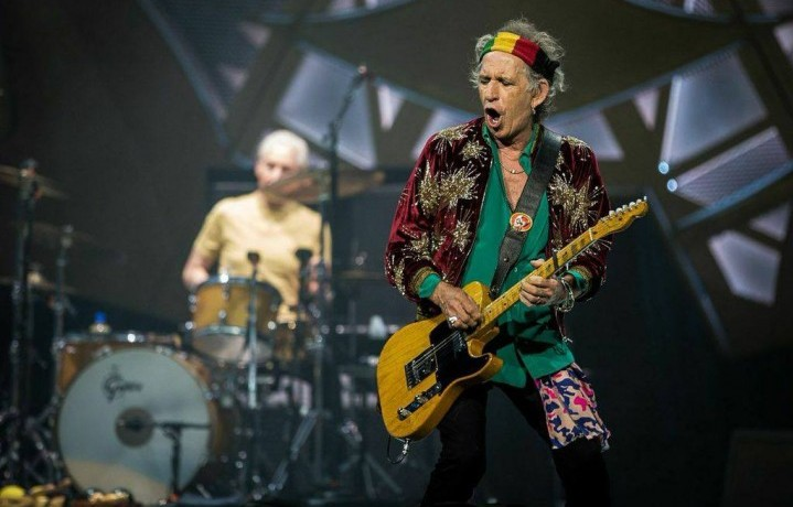 Keith Richards, 71 anni compiuti oggi