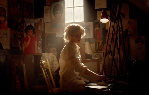 "Un frame inedito del film ""Big Eyes"" di Tim Burton"