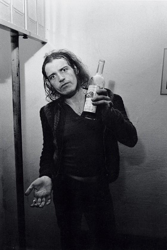 Joe Cocker nel 1969, fotografato da Oliviero Toscani