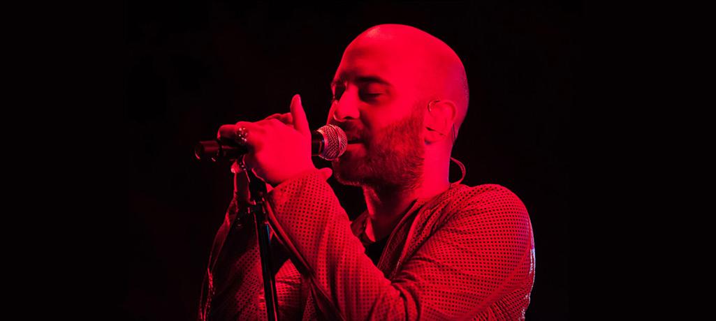Giuliano Sangiorgi live con i Negramaro a Piazzola sul Brenta, foto di Giuseppe Craca