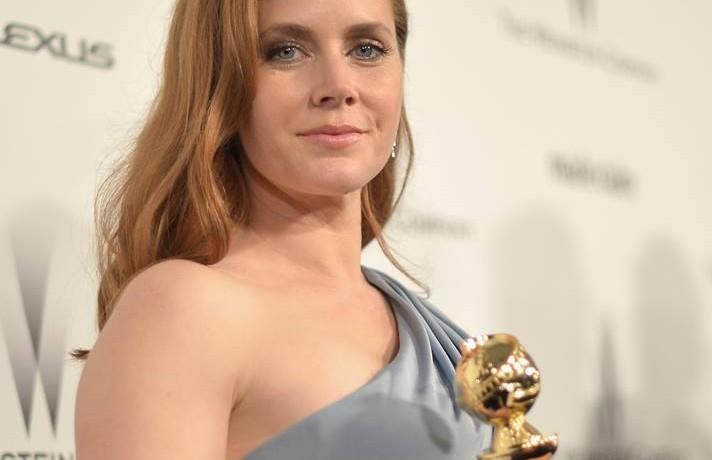 """Amy Adams, 40 anni, premiata come miglior attrice protagonista di commedia per """"Big Eyes"""""""