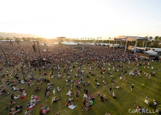 Un momento del Coachella 2014