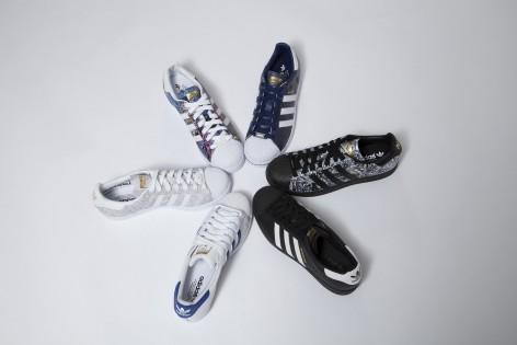 Adidas Superstar New York Collection