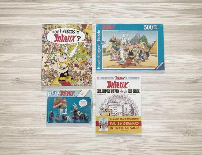 Asterix, Obelix e il druido Panoramix. Dal 1959 a oggi, fumetti, puzzle e giocattoli che hanno cresciuto intere generazioni.