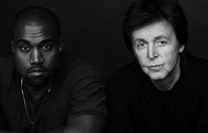 "Kanye West, 37 anni, e Paul McCartney, 72, leggendario membro dei Beatles. Insieme hanno scritto ""Only One"""