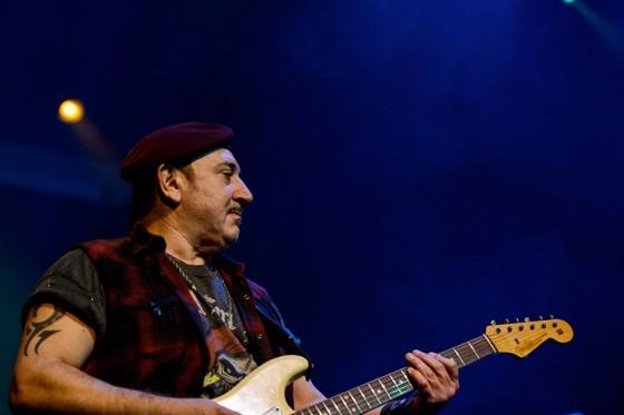 Ghigo Renzulli, 61 anni, chitarrista e membro fondatore dei Litfiba (foto: Michele Aldeghi)