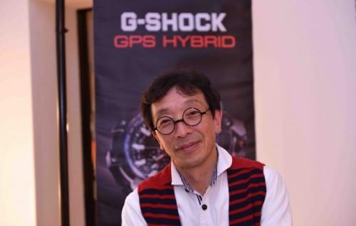 Kikuo Ibe ha creato il G-Shock nel 1981 (l'orologio è sul mercato dal 1983). L'abbiamo incontrato all'inagurazione del negozio monomarca a Milano