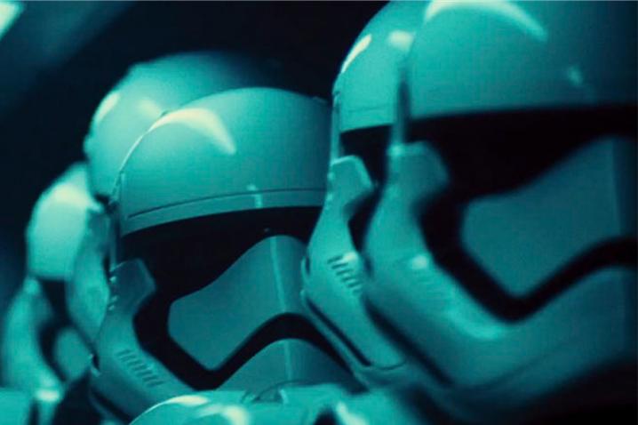 """Un frame di """"Star Wars: Il Risveglio della Forza"""""""