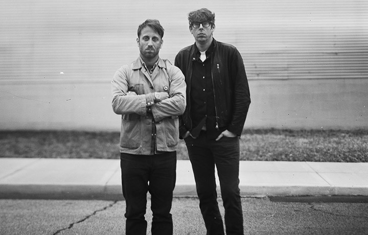 Black Keys:Dan Auerbach e Patrick Carney, foto di Alysse Gafkjen