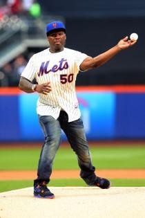 50 Cent indossa la maglia dei New York Mets