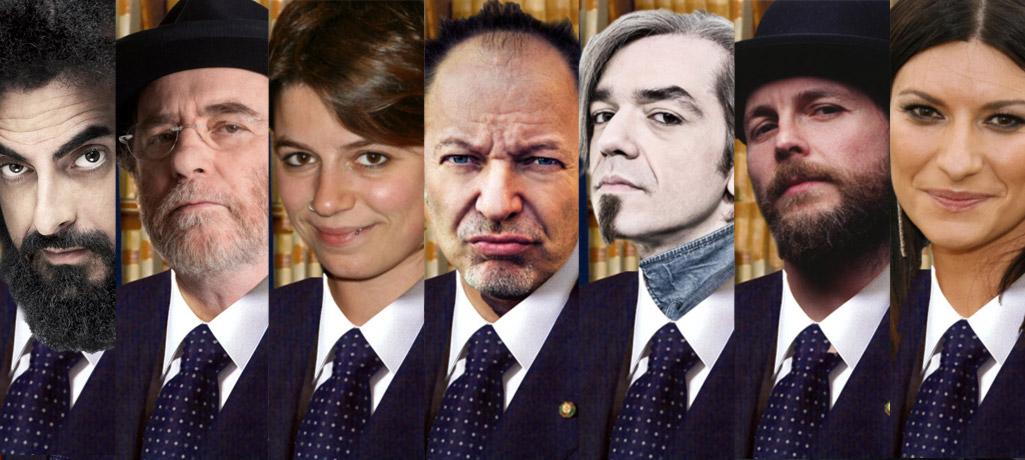 Alcuni dei nostri candidati per la corsa al Quirinale