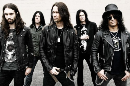 Slash di nuovo in tour con Myles Kennedy and the Conspirators
