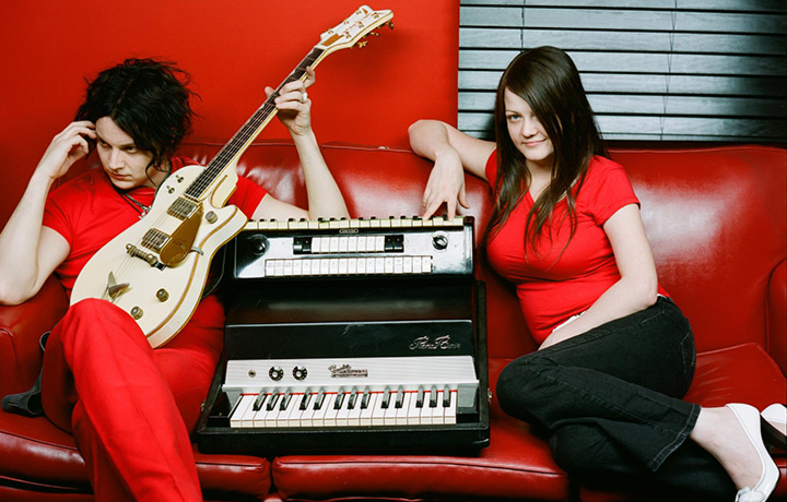 Jack e Meg White, che dal 1997 al 2011 sono stati i White Stripes