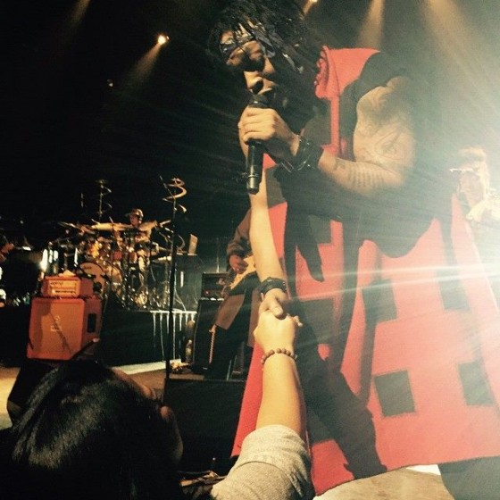 "Un'immagine dal ""The Second Coming Tour"" di D'Angelo"