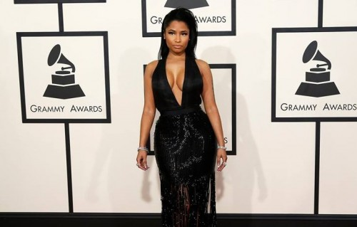 Nicki Minaj sul red carpet degli scorsi Grammy Awards