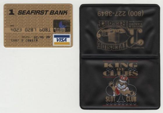 La carta di credito di Kurt Cobain messa all'asta