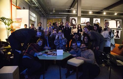 Il Divano di Rolling ieri sera, alla Fabbrica del Vapore di Milano