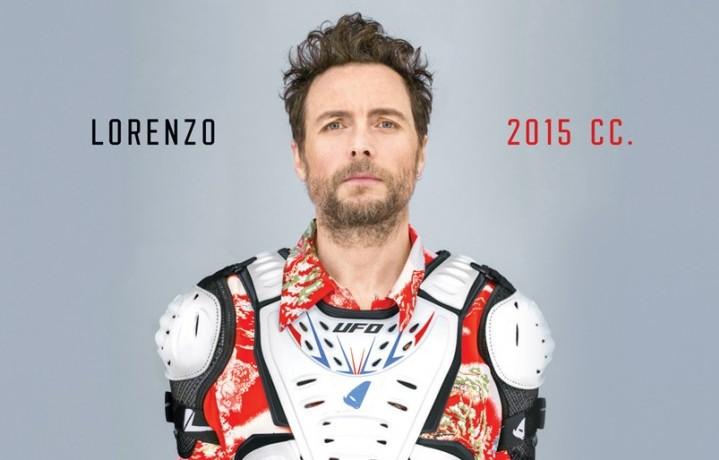 """La copertina di """"Lorenzo 2015 cc"""" nuovo album di Jovanotti uscito il 24 febbraio"""
