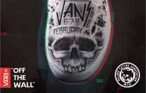 Vans Ink Art, dal 6 all'8 Febbraio 2015 alla Milano Tattoo Convention