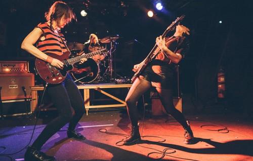 Girl Power con le Ex Hex in concerto