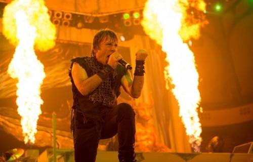 Il leader degli Iron Maiden aveva due tumori - Foto di John McMurie via www.ironmaiden.com