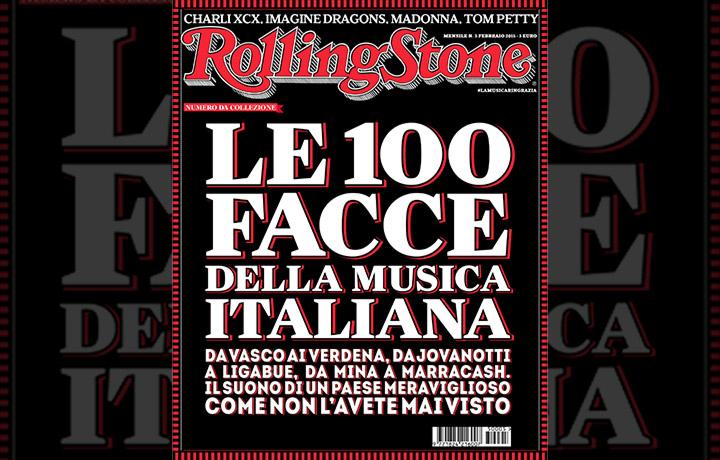 La cover del numero di febbraio di Rolling Stone