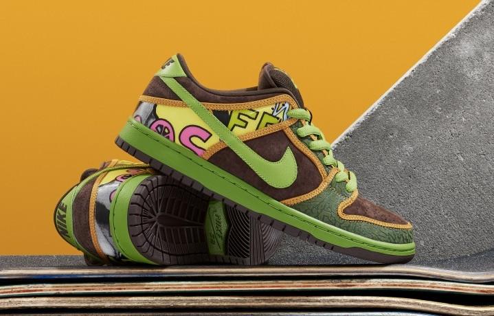 Le nuove Nike SB ispirate ai De La Soul