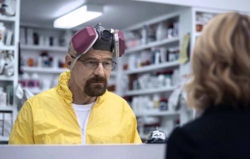 Bryan Cranston è tornato a interpretare Walter White per la pubblicità delle assicurazioni Esurance, trasmessa durante il Super Bowl