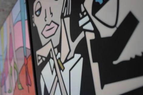 """Alcuni dei """"Tombini Art"""" di Metroweb. L'inaugurazione della mostra open air è martedì 24 febbraio dalle ore 18.30, ovviamente on the road"""