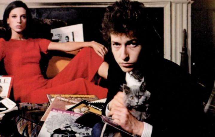 Bob Dylan nella cover di Bringing It All Back Home