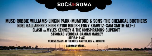 I nomi del Rock in Roma
