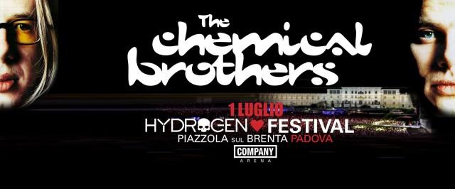 I Chemical Brothers tra gli healdliner dell'Hydrogen Festival