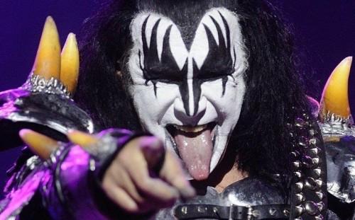 Gene Simmons, bassista dei Kiss, 66 anni