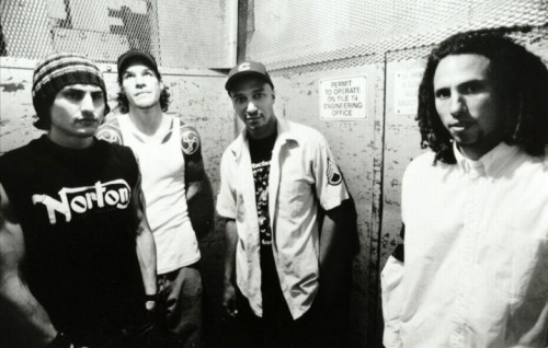 I Rage Against the Machine al completo