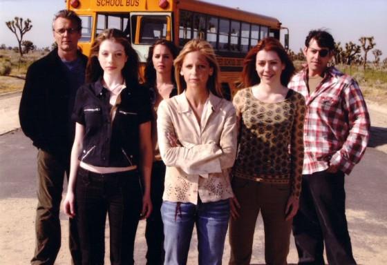 """Un fotogramma dall'ultimo episodio di Buffy, """"Chosen"""", trasmesso nel 2003"""
