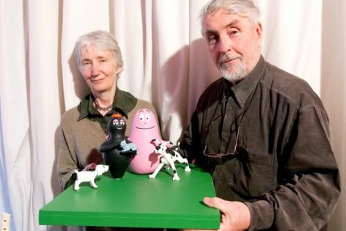 Talus Taylor con la moglie Annette Tyson