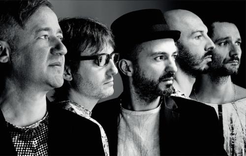"""I Subsonica ritratti da Giovanni Gastel per le """"100 facce della musica italiana"""" Rolling Stone nel dicembre 2014"""