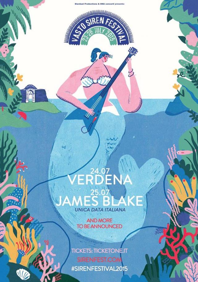 La locandina del Siren Fest 2015