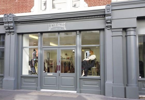 L'ex negozio di Lily Allen in Lexington Street, Londra