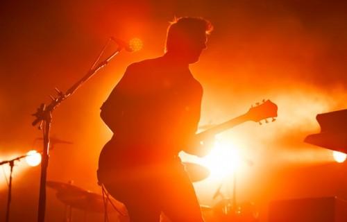 """I Queens Of The Stone Age hanno suonato il terzo giorno della rassegna """"Rock In Idro"""" nel 2014, a Bologna"""