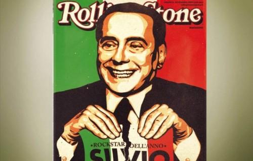 La copertina che Rolling Stone aveva dedicato a Silvio Berlusconi nel novembre 2009