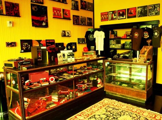 Il negozio di Jack White, a Nashville