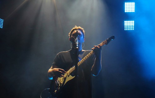 Gli Alt-J al Madison Square Garden di Manhattan, New York. Foto di Colleen Pesci