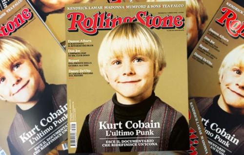 Rolling Stone n.7 Aprile - Kurt Cobain, l'lutimo Punk