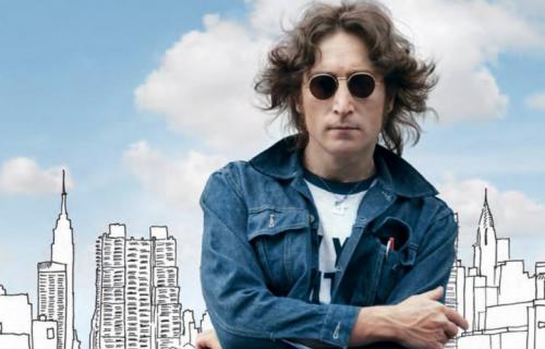 """La creatività di """"Lennon"""" che raccoglie su vinile tutti gli album studio dell'ex Beatle."""