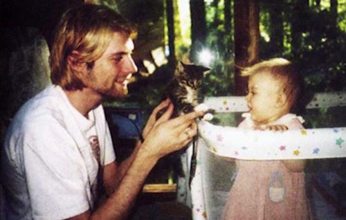 """Un fotogramma di """"Montage of Heck, il documentario sulla vita di Kurt Cobain"""