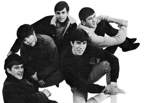 Jack Ely (in basso a sinistra), con i suoi Kingsmen nel 1966